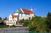 Church In Bavarian Town Fussen
