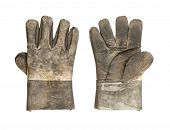 Dirty Leather Glove