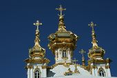 This Beautiful Church Is Situated In Petergof St. Petersburg Russia