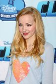 LOS ANGELES - DEC 18:  Dove Cameron at the Premiere Of Disney Channel's