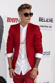 LOS ANGELES - DEC 18:  Justin Bieber at the