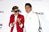 LOS ANGELES - DEC 18:  Justin Bieber, Jon M. Chu at the