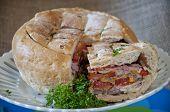 Creative Baked Sandwich