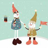 Two Snowmans
