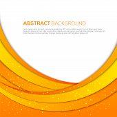 Absatract orange background