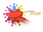 image of pongal  - Happy Pongal - JPG