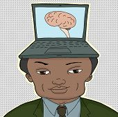 Man With Computer Brain