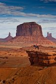 Man On Horse, Monument Valley