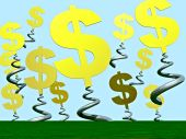 Dollars Springing