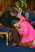 Muslim wedding ceremony