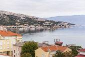Panoramic view of Baska / Croatia