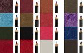 Many makeup liner pencils