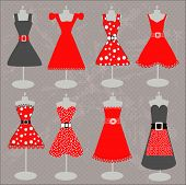 red dresses collection