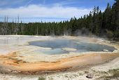 Yellowstone Lake & Thermal Pools