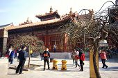 Lama Temple In Beijing, China.