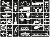 Modes Of Transport Icons