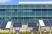 Modern Office With Solar Power
