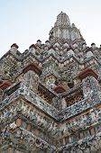 Top Of Chedi In Wat Arun Temple