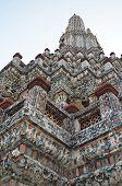 Top Of Chedi In Wat Arun Temple