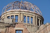 a-bomb dome of Hiroshima, world war ruins