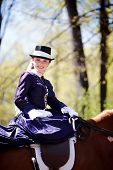 Portrait Of The Horsewoman.