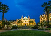 MONTE CARLO - JULY 4: Monte Carlo casino in Moncao on July 4, 2013 in Nice. Monte Carlo is the most