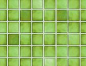 green tile background