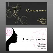 business card for hair