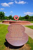 Never Forget Memorial, Alrewas.