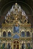 Interior Of Uspenski Russian Orthodox Cathedral In Helsinki, Finland