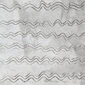 Gray Concrete Wall Texture With Waved Pattern