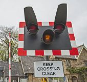 Level Crossing Warning Sign