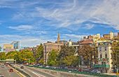 City Of Boston, Ma, United States Of America. Hdr Image