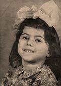 Vintage  Portrait,1960