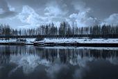 Winter Nature, River