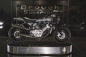 Brough Superior Motobike At Eicma 2014 In Milan, Italy