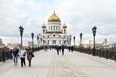 View Of Cathedral Of Christ The Saviour, Moscow