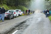 Bad Weather On The Roads Of Le Tour De France 2014
