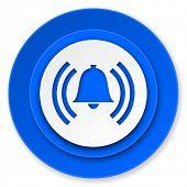 alarm icon, alert sign, bell symbol