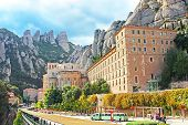 People Are Going To Montserrat Benedictine Monastery