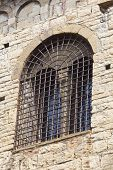 Window In The City Of Bergamo, Lombardy, Italy