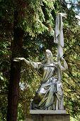 Sculpture Russia In The Grutas Park Near Druskininkai