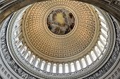 Dome Inside Of Us Capitol, Washington Dc