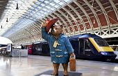 Paddington Bear At Paddington Station In London