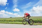 image of competing  - Racing Cyclist - JPG