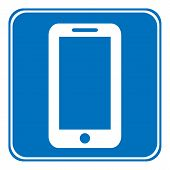 Phone Allowing Sign