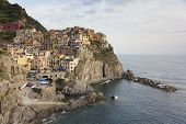 View Of Manarola, La Spezia, Liguria, Italy