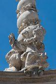 Holy Trinity Column In Sopron