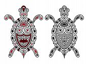 Vector Turtle, Tattoo Style