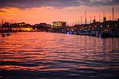 Vieux Port Sunset